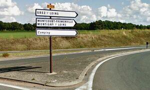 D104 (77) - Grez-sur-Loing