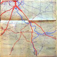 A6 1947 Schéma routier SARP