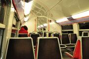 Intérieur du RER C