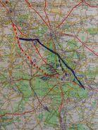 A6 1955 Fontainebleau variante Est