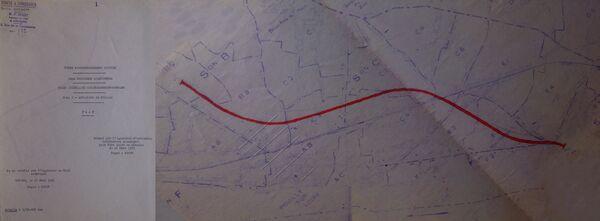 Déviation de Pouilly sur Loire RN7 1961