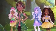 Dragon games - Nina, Jillian, Farrah, and Justine