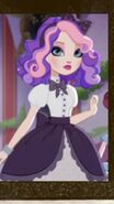 Backgrounder/Pink and Purple Haired Girl