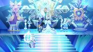 EW - SnowDay - Snow castle throne room set all