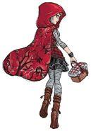 Book art - Cerise Hood V