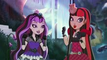Raven and cerise