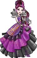 Profile art - Thronecoming Raven Queen II