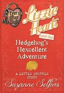 Lizzie Hearts Hedgehog adventure Book Cover