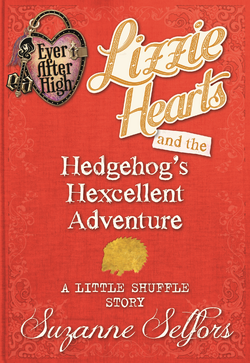Lizzie Hearts Hedgehog adventure Book Cover