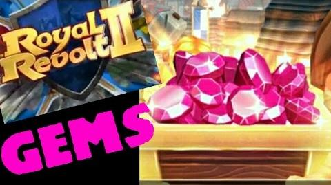 Royal Revolt 2 - How to get free gems (tutorial)