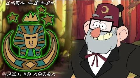 THE MYSTERY OF STAN PINES GRAVITY FALLS The Royal Order of the Holy Mackerel