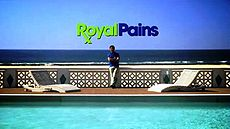 Royal Pains splash