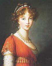 Elizabeth Alexeievna personality
