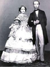 Archduke Maximilian and Archduchess Charlotte of Austria
