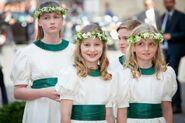 Elisabetta's bridesmaids