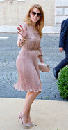 Princess Beatrice at Amedeo's Wedding