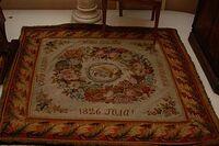Carpet on which Elizabeth Alexeivna prayed upon