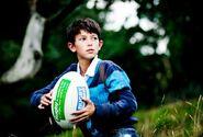 Prince Nikolai - With Rugby Ball