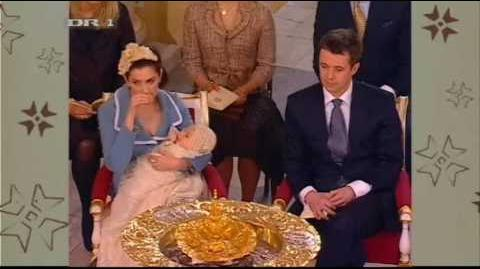 Christening of Prince Christian (21 Jan. 2006)