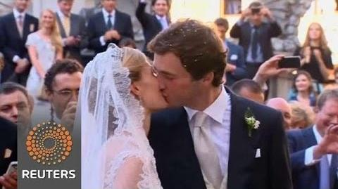 Prince Amedeo's Fairy tale Wedding