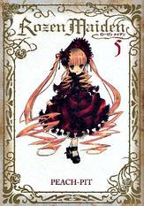 Rozen Maiden volume 5 Shinsoban