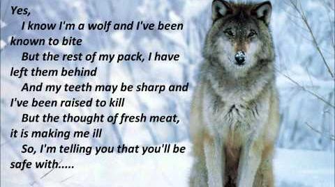 """""""I know I'm a Wolf"""" Lyrics"""