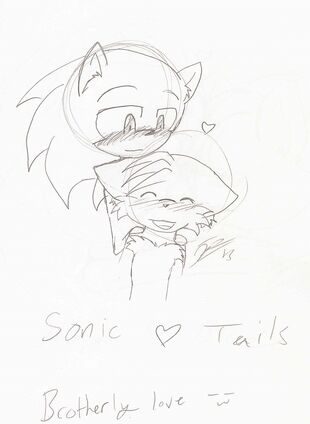 Sonic X Tails 1