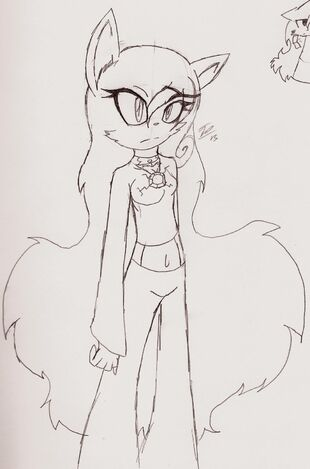 Ruby The wolf