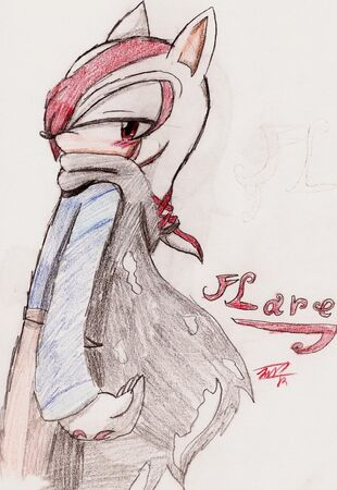 Flare's new look.