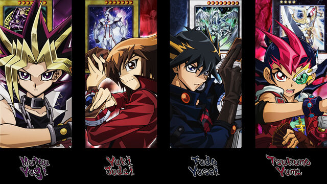 File:Yu gi oh main protagonists wallpaper by kaitouyahiko-d4g900c.jpg