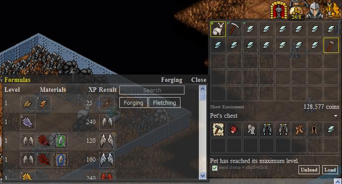 Anvil Forging Regular Interface