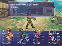 Second arrest