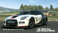 Showcase NISSAN Sumo Power GT GT-R GT1