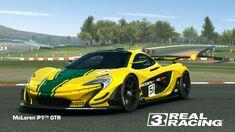Showcase McLaren P1™ GTR