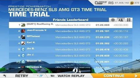 Mercedes Benz GT3 Time Trial Hockenheim