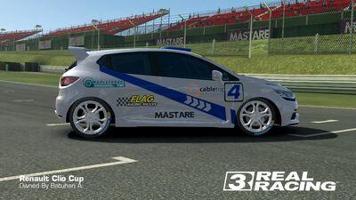 Clio Cup Team SB No.4 Side
