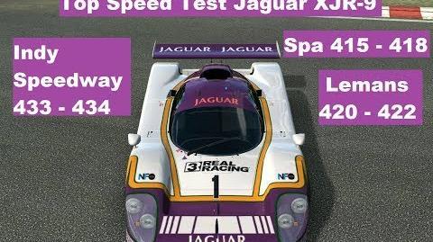 Top Speed Test Jaguar XJR-9
