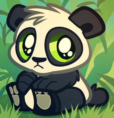 File:Baby panda bear cartoon panda cub by dragoart-d5f661b.png