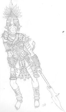 Tibbite Warrior