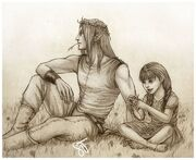 Young kat and Elrond