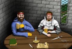 Sir Bool's Portrait - Their Last Drink