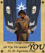 Recruitment Sir Vye