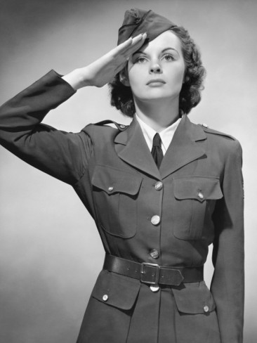 Ava in uniform