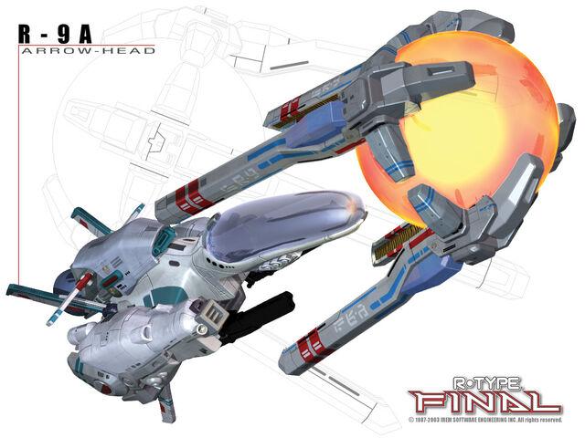 File:R-Type Final R-9A Arrowhead.jpg