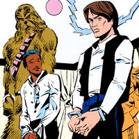 Lando and Han captive