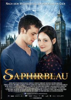 Saphirblau film poster