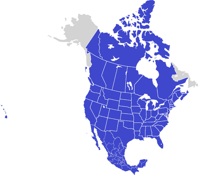 Federation of North America (updated)2