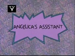 Angelica's Assistant Title Card