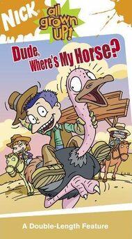 Dude, Where's My Horse VHS