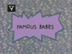 Famous Babies Title Card